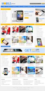 数码电子产品网站(英文)