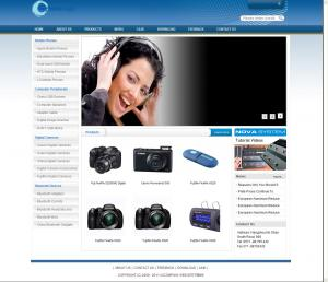 数码相机照相机网站(英文)