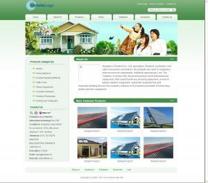 太阳能环保公司网站(英文)