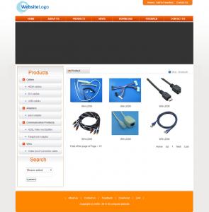 电缆电线外贸网站(英文)